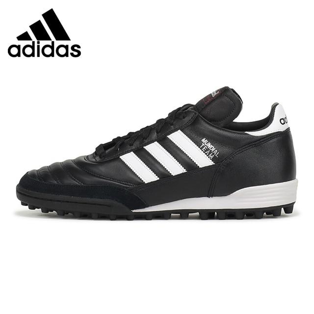 f53535ad536218 Original Nova Chegada 2018 EQUIPE Adidas MUNDIAL Dos Homens TF  Futebol/Futebol Calça As Sapatilhas