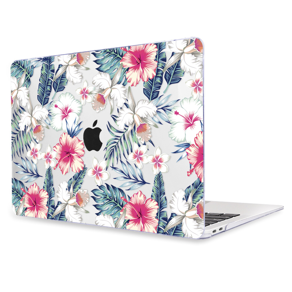 Redlai Colorful Flowers Case for MacBook 39