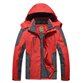 Newest design Man's   Waterproof Windproof Mountain Warm Coat Jacket  Jacket Men  Large Size Sportswear