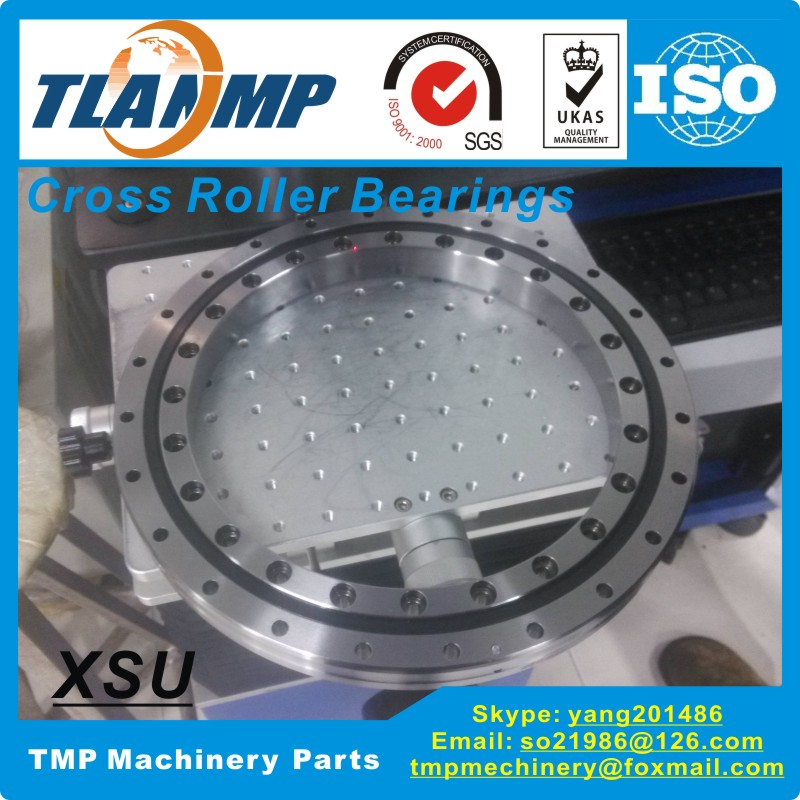 XSU080398 Crossed Roller Bearings (360x435x25.4mm) TLANMP- Precision  Turntable Bearing Made In China