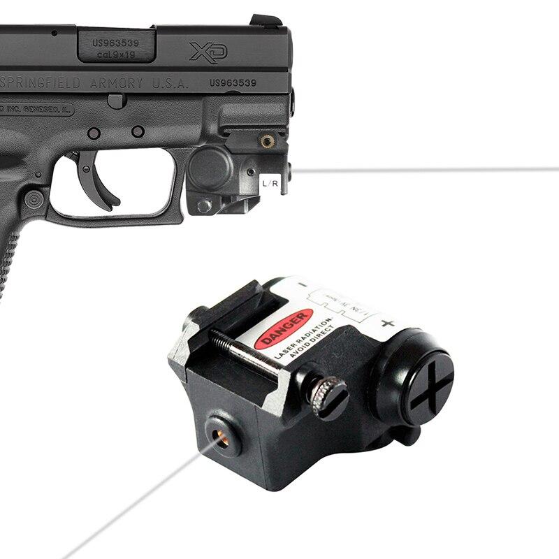 laserspeed mini ir pistola de visao a laser com picatinny montagem em trilho para tiro subcompacto