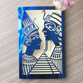 100X Laser Cut Pearl paper Romantic Couple Design Wed Invite Decoraiton Card Party Engagement birthday Wedding invitations cards