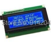 1pcs/lot LCD Board 2004 20*4 LCD 20X4 5V Blue screen blacklight LCD2004 display LCD module LCD 2004 for arduino