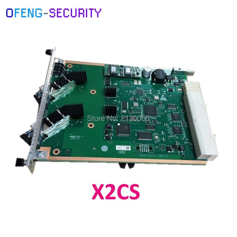 Original HuaWei X2CS Model 10G Uplink OLT Card For Huawei MA5680T ,MA5683T 5608t OLT,including 2 Pieces Of 10G Uplink Module