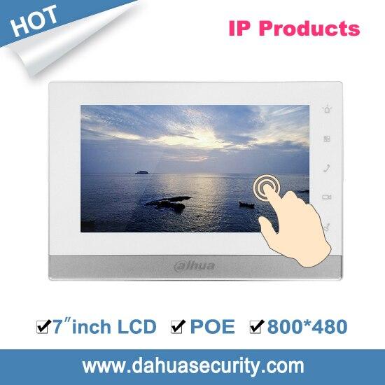 bilder für Versand DHL heißer verkauf freies 7-zoll 800X480 auflösung Kapazitiven touchscreen Farb-innen-monitor VTH1550CH