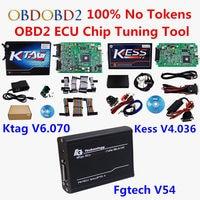 New KTAG V2 13 KESS V2 V2 23 FGTech V54 ECU Programmer K TAG K TAG