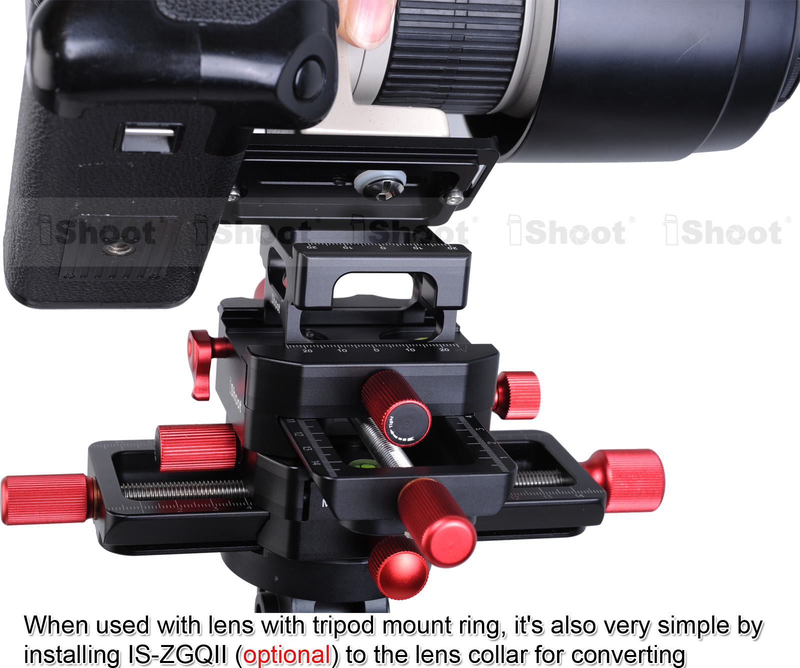 Image 5 - 150mm 4 way Macro Focusing Rail Slider Head With Arca Swiss Fit Clamp Quick Release Plate for Tripod Ballhead Canon Sony Camera-in Tripod Heads from Consumer Electronics