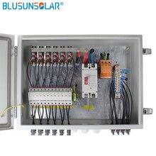 12 струнный вход в 1 струнный выход для вне сетки солнечной энергии системы фотогальванический массив Солнечной PV Combiner Box