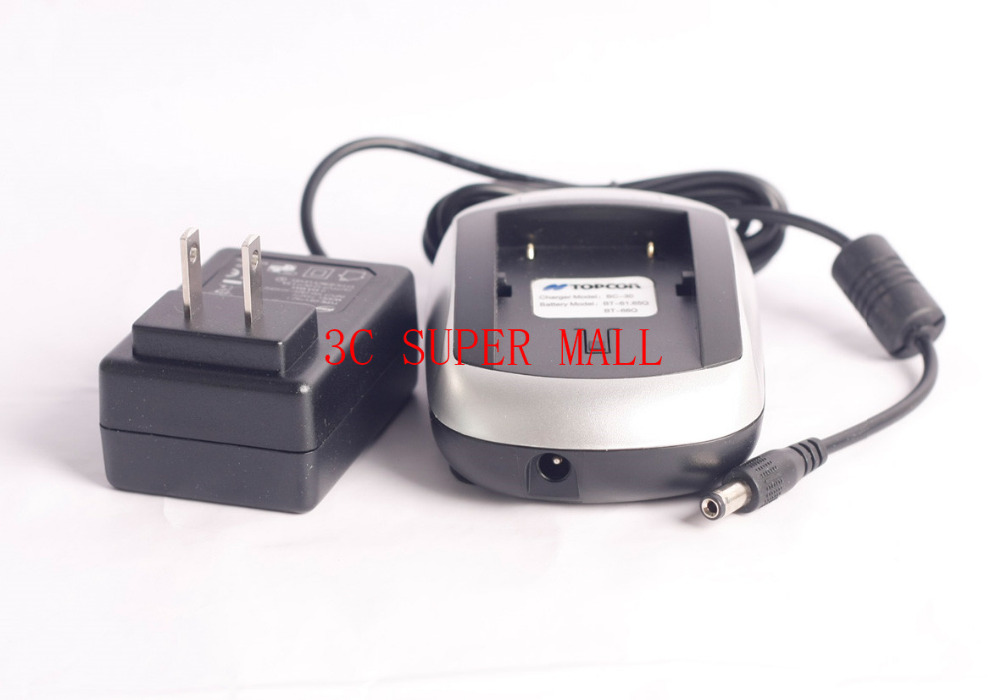 NEW  BC-30 Charger FOR TOPCON BT65Q BT-65Q Battery