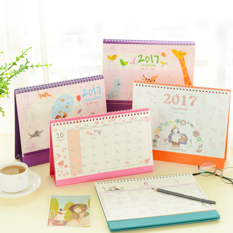 Calendar Planner For Desktop : Online buy wholesale table calendar printing from china