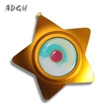 Handmade Sailor Moon Cosplay Moonlight Memory Star Shape Music Box Best Gift