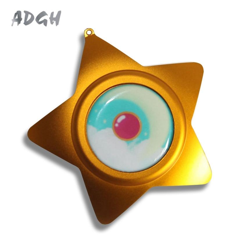 Caixa de Música Presente da Forma da Estrela Handmade Cosplay Sailor Moon Memória Luar Melhor