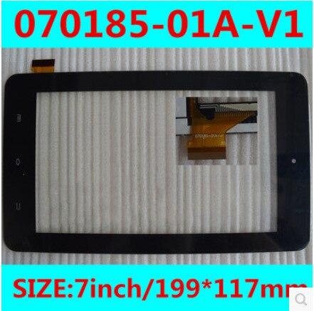 Новый 7 дюймов tablet емкостной сенсорный экран 070185-01A-V1 бесплатная доставка
