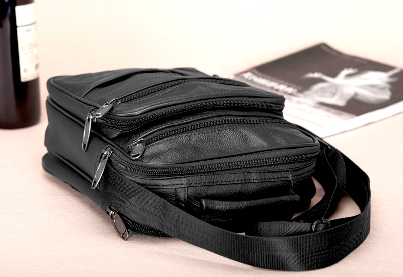 Lehmanahast üleõlakott paljude taskutega
