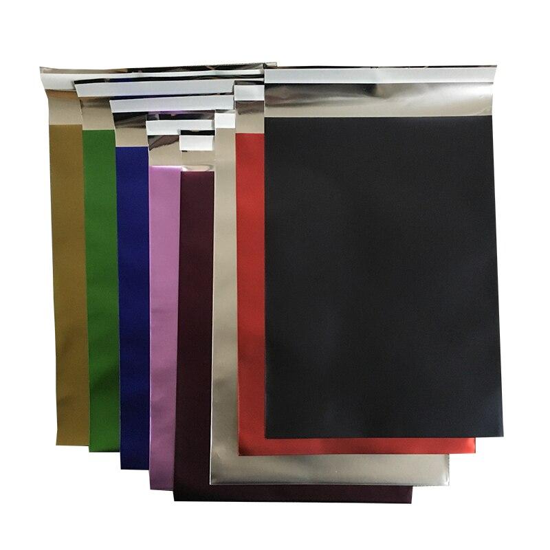 Self adhesive foil bag 18 x 25cm Matt aluminum foil bag poly mailer 7x10 Courier bag