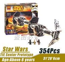 Bela 10373 Star Wars Space Wars Advanced Titanium Prototype Minifigures Building Block Minifigure Toys Compatible with Legoe