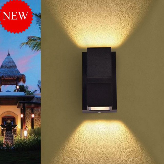 Jiawen 6w 10w villa corridor wall lights outdoor waterproof led wall jiawen 6w 10w villa corridor wall lights outdoor waterproof led wall lamp up and down mozeypictures Gallery