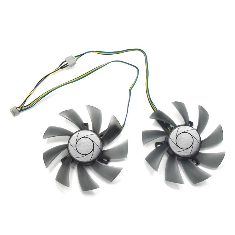 Nueva 85mm T129215SU GTX 1060 ventilador DC 12 V 4Pin ventilador substituye para MSI GeForce GTX 1060 3GT OC MSI GeForce GTX 1060 6GT OCV1