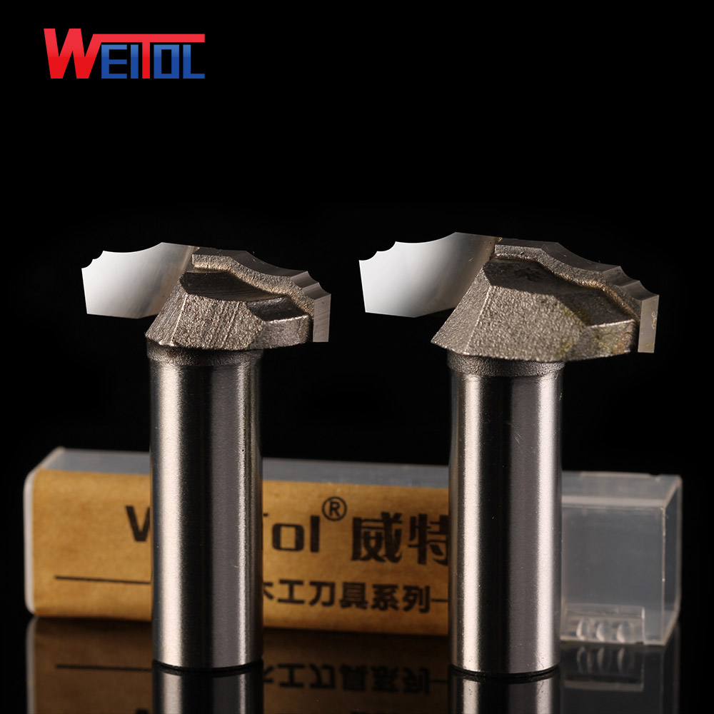 Weitol free shipping 1/2 shank carbide raised panel router bits door cabinet pattern bit for woodworking engraving bit for wood free shipping 2pcs 6mm dia 60 angle 0 2mm tip 3 edge carbide woodworking tools engraving bits for cnc router machine