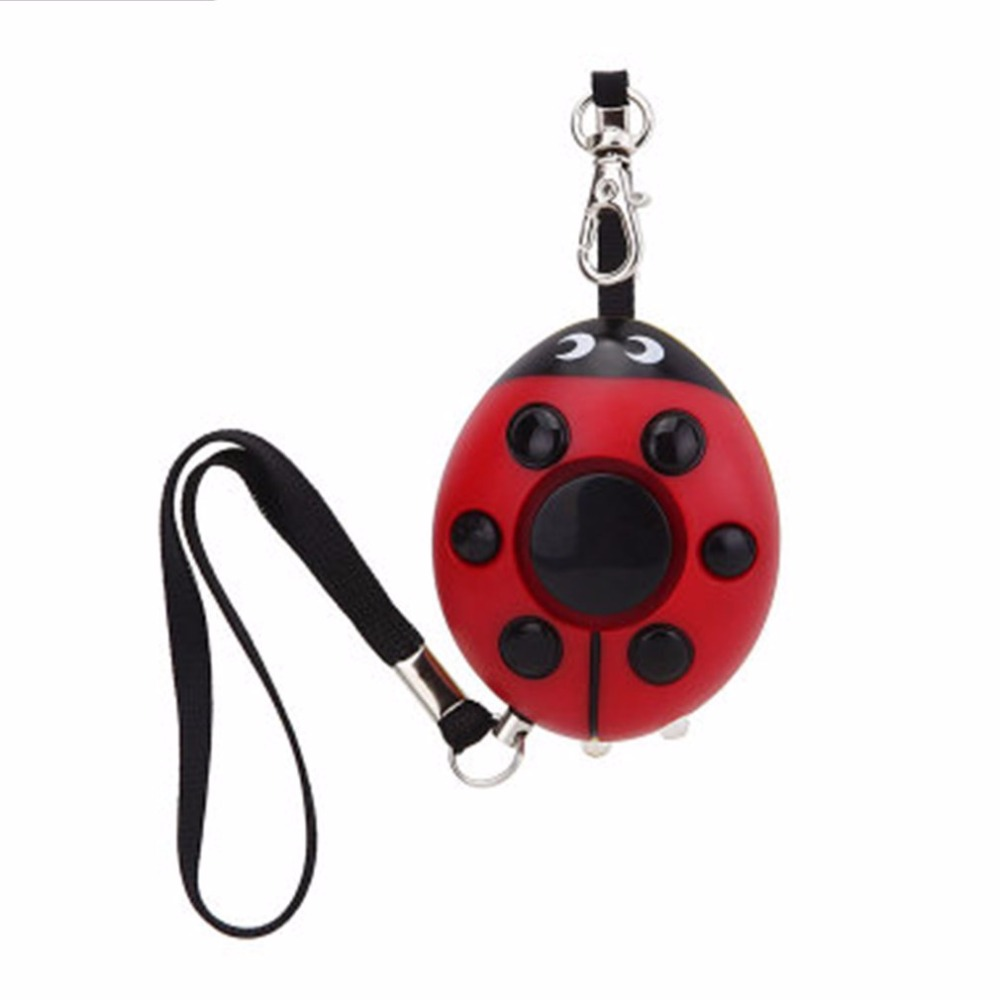 Self-defense alarm security mini portable keychain emergency girl anti-attack durable voice alarm anti-wolf device about 130dB(China)
