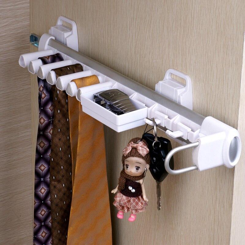 Armoire matériel accessoires série multifonctionnel armoire cravate rack hommes pince à cravate cintre - 2