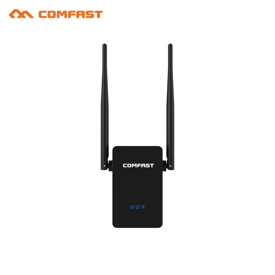 New! COMFAST CF-WR750ACV2 Wireless WIFI Repeater 750Mbps Routers Dual Band 5Ghz 802.11AC Wi fi Roteador Extender Wifi Amplifier comfast full gigabit core gateway ac gateway controller mt7621 wifi project manager with 4 1000mbps wan lan port 880mhz cf ac200