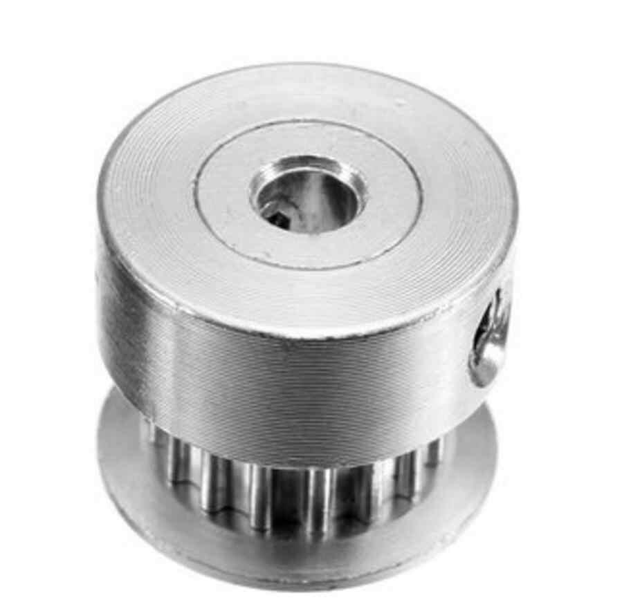 DuoWeiSi Peças Da Impressora 3D GT2 Polia 16 Dentes Furo de 6 MM Engrenagem de cronometragem Alumium Para Cinto GT2 Largura 6 MM Impressora 3D acessórios
