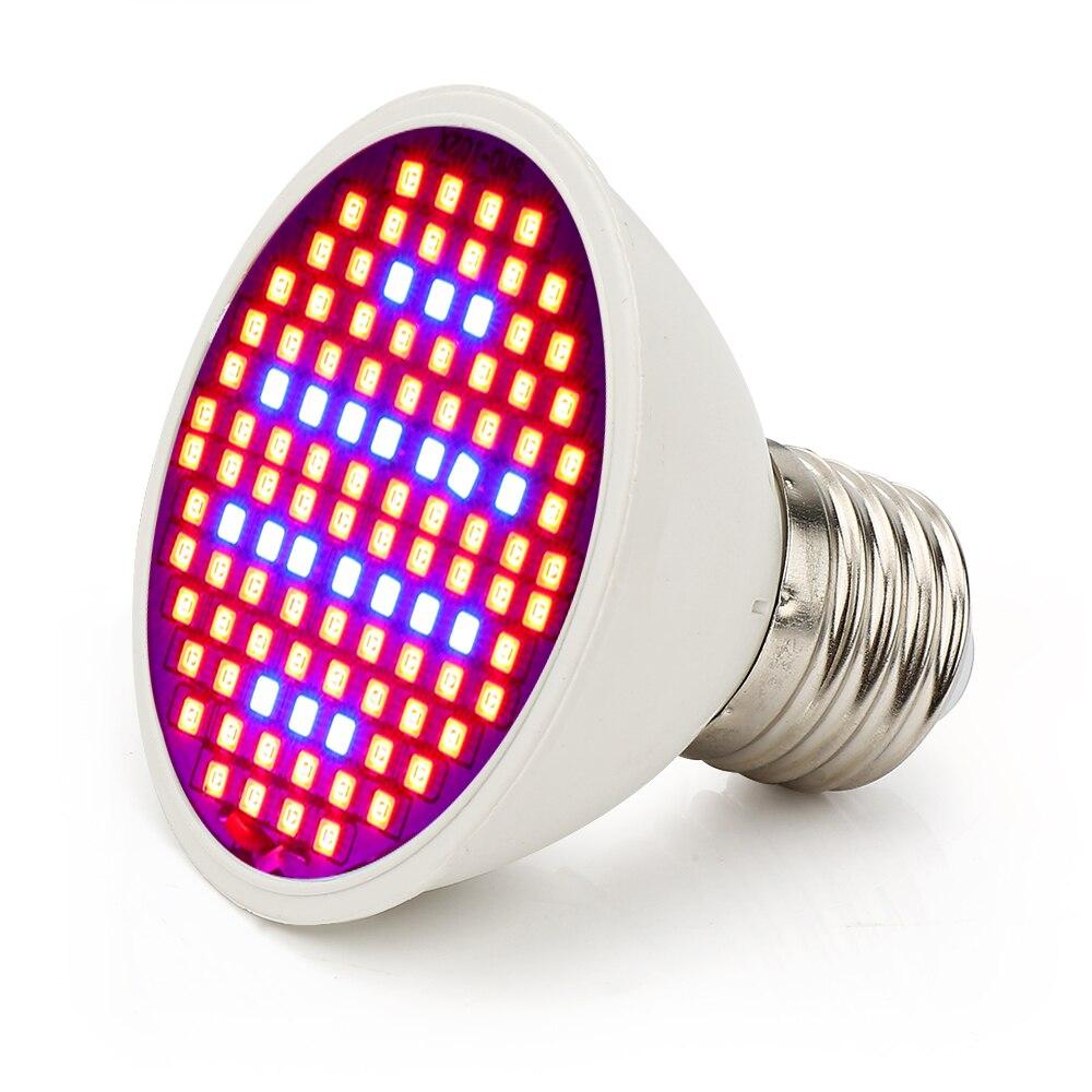 E27 LED Grow Light 10W 86Red: 20Bleue 15W 90Red: 36Blue Phytolamp for - Մասնագիտական լուսավորություն - Լուսանկար 4