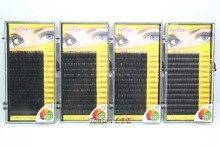 4 Bandeja Navina Pro 0.15C Onda (8/10/12/14 MM) Natural Cílios Postiços Falsos Eye Lashes Extensão Maquiagem Tool Macio para a Beleza Dos Olhos