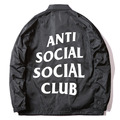 2017 ANTI SOCIAL SOCIAL CLUB Windbreaker Jackets Men ASSC Logo Hip Hop Season Nylon Box Jaket Treinador Bomber Alfa Ceket Coats
