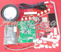 Free Shipping Type HX3228 Patch Plug In Player Radio Electronic Production Training DIY Kit Parts