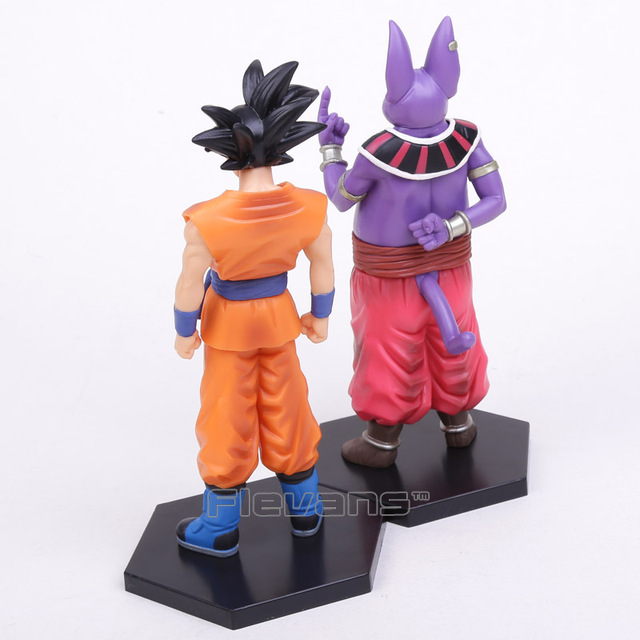 Dragon Ball Super Champa & Son Gokou PVC Figures (2 Pcs Set)