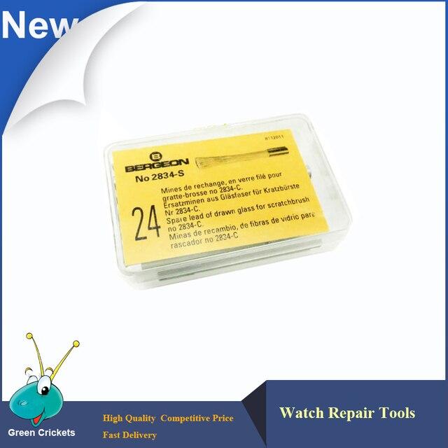 Кисточка палочка из стекловолокна No.2834-S 24 шт./кор., запасная щетка для очистки пыли для No.2834-C