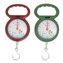 Mini 10kg Weighing Hook Weight Scale for Fishing Arabic Numeral Pointer Pocket Hanging Scales Libra