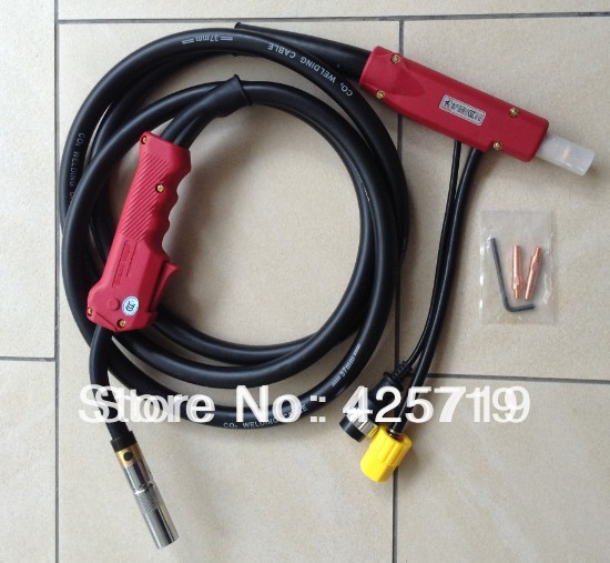 MIG-350A welding torch, 350AMP welding troch, CO2  MIG  torch 350A, PANA style welding gun 3M nt1 3t air cooled gas metal arc welding gun north mig welding torch coupled with twe co fitting 3 meter