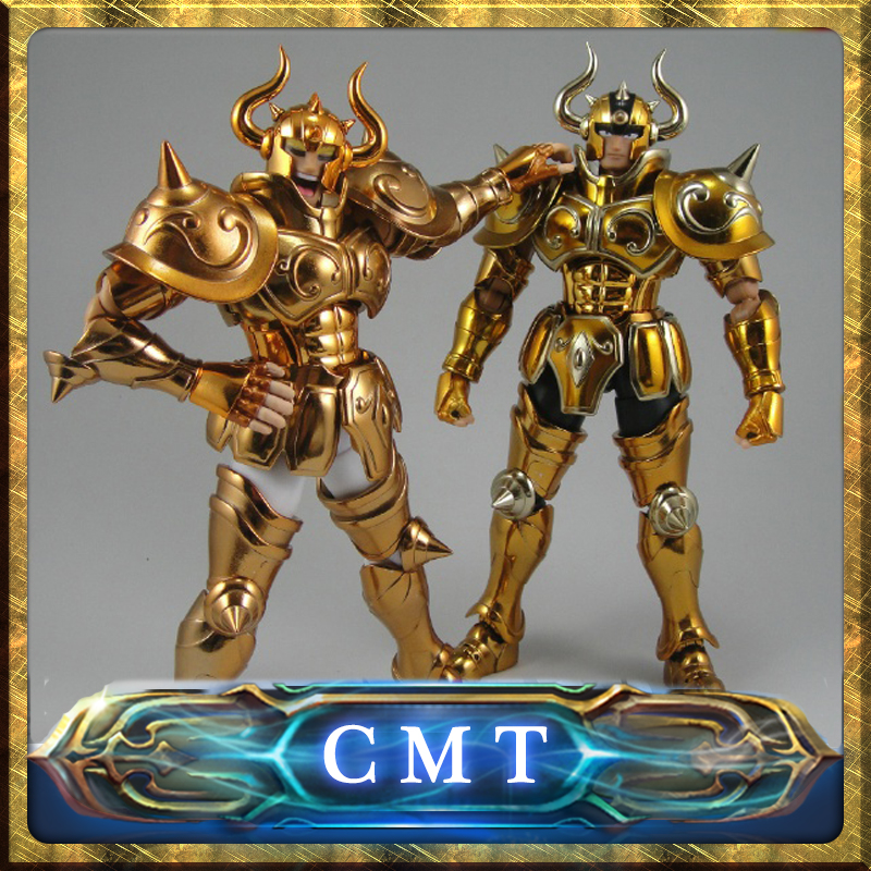 EN STOCK S-Temple Métal Club EX Taureau Aldebaran Saint Seiya Myth Cloth Or Action Figure