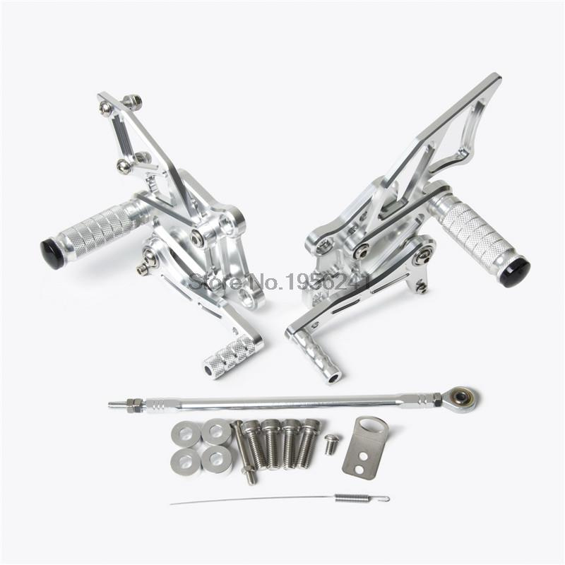 Motorcycle CNC Adjustable Rearsets Rear Set Footrests for
