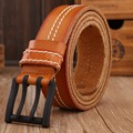 Cowboy genuine leather strap double layer mens belts luxury 2017 new arrival hot designer belt men high quality fashion ceinture