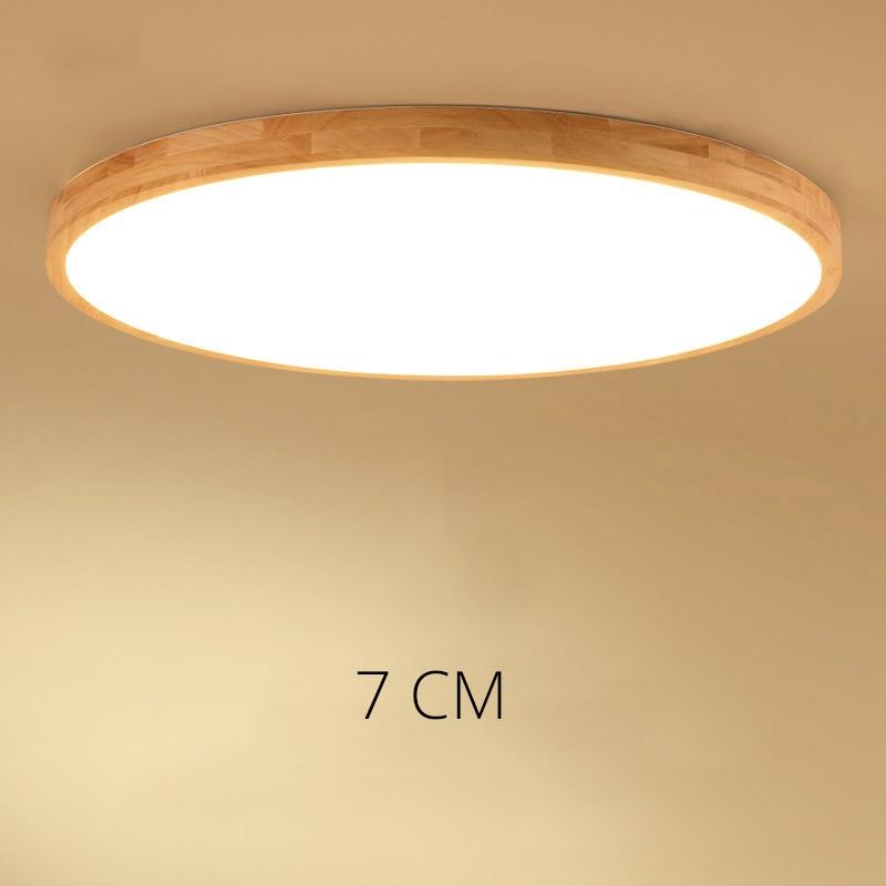 Ultra-Delgado techo de iluminación LED lámparas de techo para la sala de estar lámparas de techo para la sala moderna lámpara de techo alta 7 cm