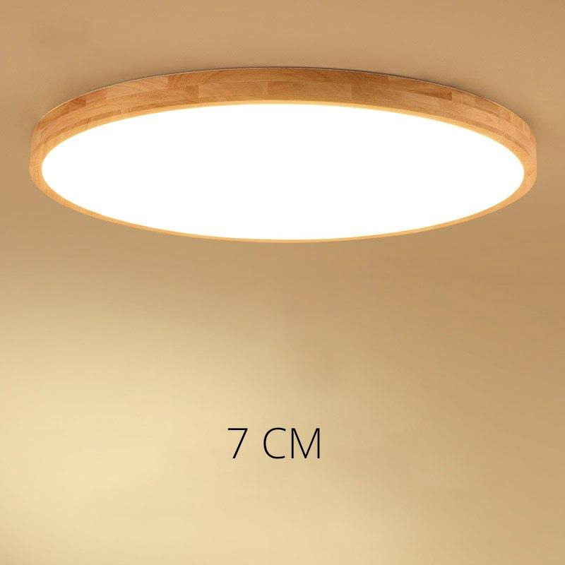 Ultra-mince led plafond éclairage plafonniers pour le salon lustres de Plafond pour le hall moderne plafonnier haute 7 cm
