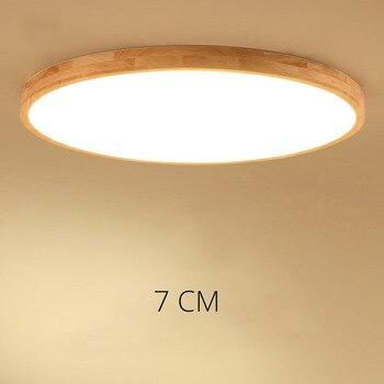Ultra-tipis DIPIMPIN langit-langit pencahayaan langit-langit lampu untuk ruang tamu chandelier Ceiling untuk ruang lampu langit-langit yang modern tinggi 7 cm