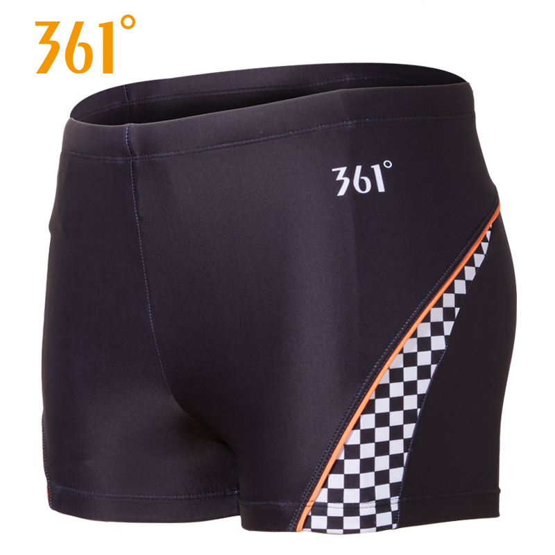 361 Men Swimming Trunks Swimwear Sexy Professional Sports Suit Beach Shorts Surfing Adult