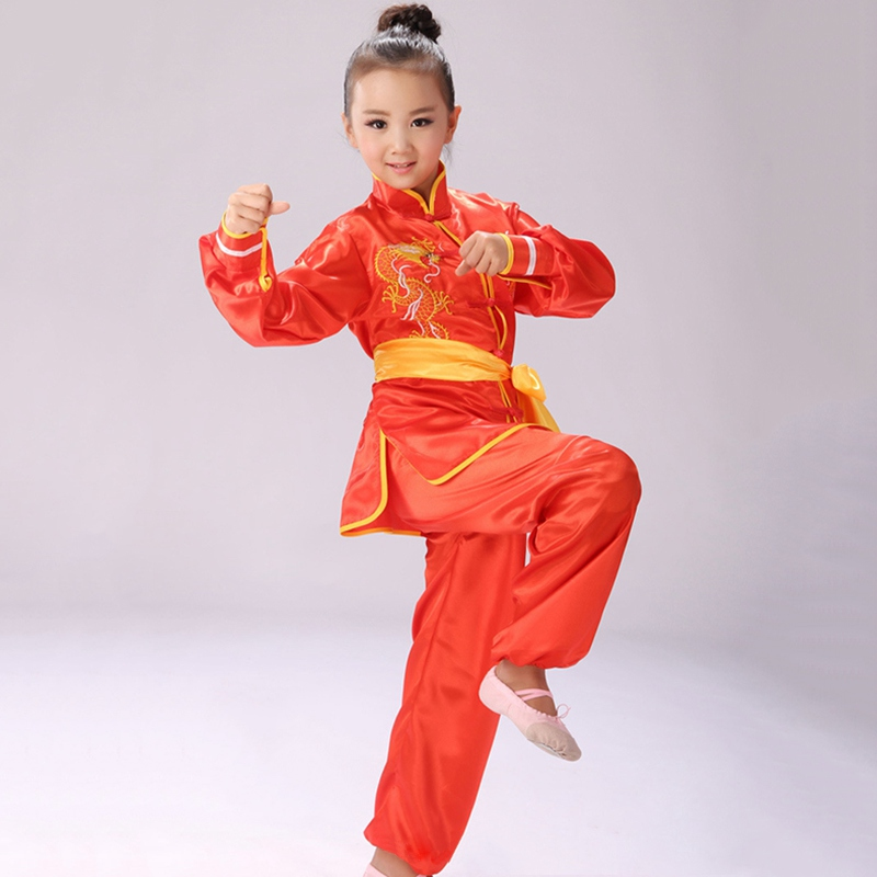 Chinese Tai Chi Clothes Martial Arts Suit Taiji Outfit Wushu Uniform Qigong Garment For Women Men Girl Kids Boy Adults Unisex 100% Original Home