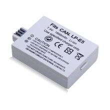 1 Pcs 1800mAh 7.4V LP-E5 LPE5 LP E5 Rechargeable Camera Battery For Canon EOS 450D 500D 1000D KISS X2 X3 F Rebel XS XSi T1i