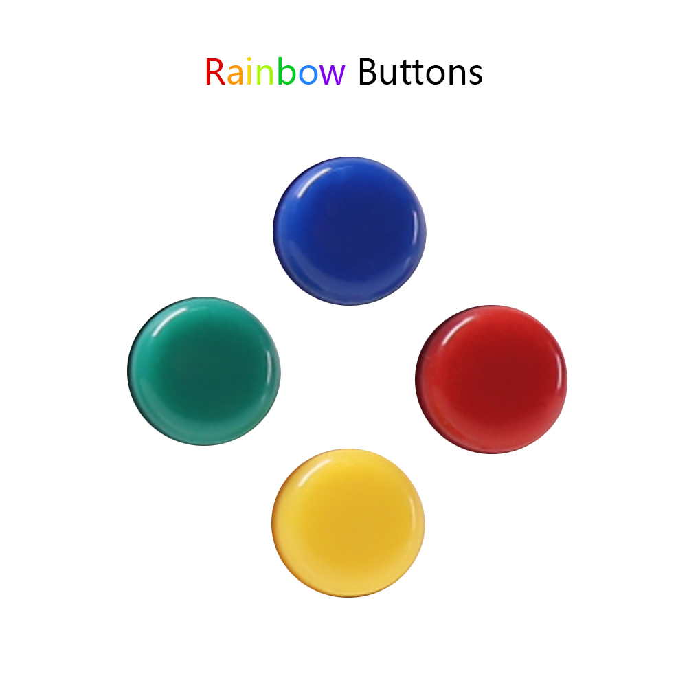 Rainbow buttons replacement for PocketGo