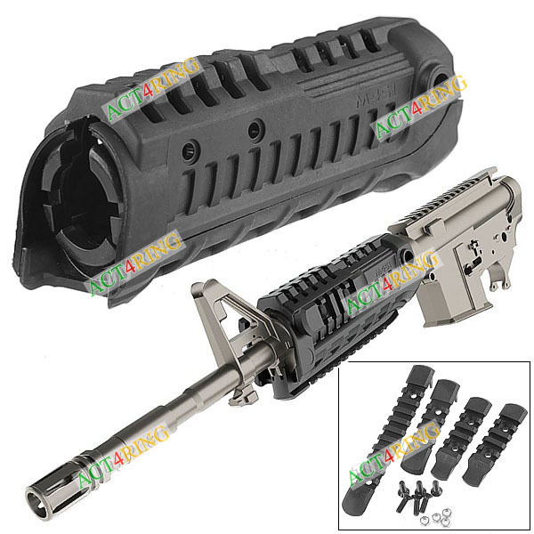 Black Arms M4S1 Hand Guard Handguard Rail System AR Carbine M16 AR15 - Act4Ring store