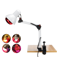 220V 100W Infrared Heat Lamp Therapy Heating Light Therapeutic Pain Relief Home Salon Health Care Bulb Physiotherapy Device