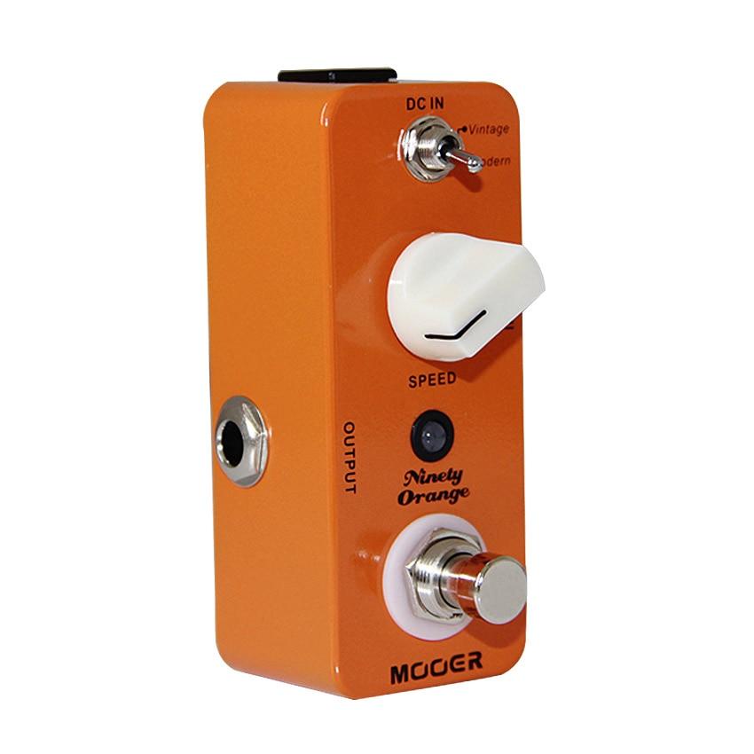 цена на Mooer Ninety Orange Guitar Effects Pedal Full Analog Circuit Guitar Pedal with Vintage/Modern Modes Guitar Accessories