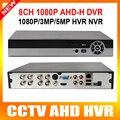 H.264 Full HD 1080 P 8-КАНАЛЬНЫЙ AHD DVR Видео Рекордер С Выход HDMI Поддержка 1*4 ТБ HDD Hybrid DVR NVR 1080 P/960 P Воспроизведения 8-канальный