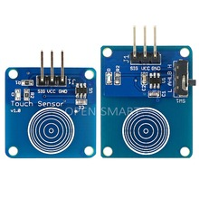 Touch Sensor Module Kit w/ Direct and Toggle Mode for Arduino Two Touch Sensor in Different Mode for Multiple Applications